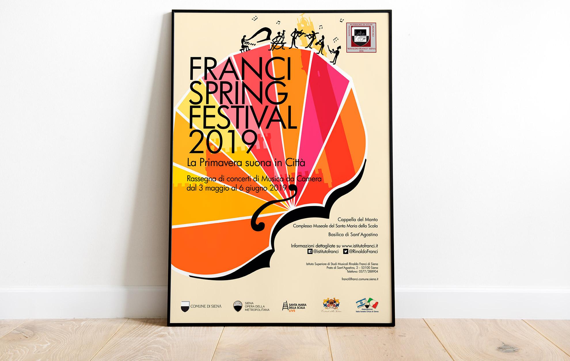 ideazione immagine pubblicitaria festival musicale