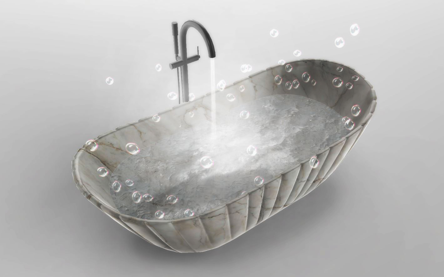 Industrial design - vasca Conchiglia