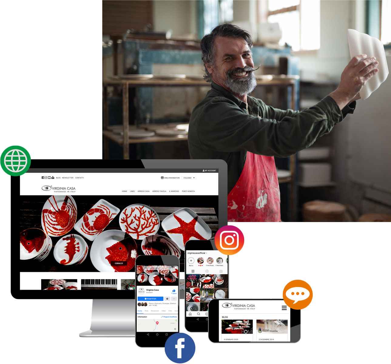 restyling sito web marketing omnicanale