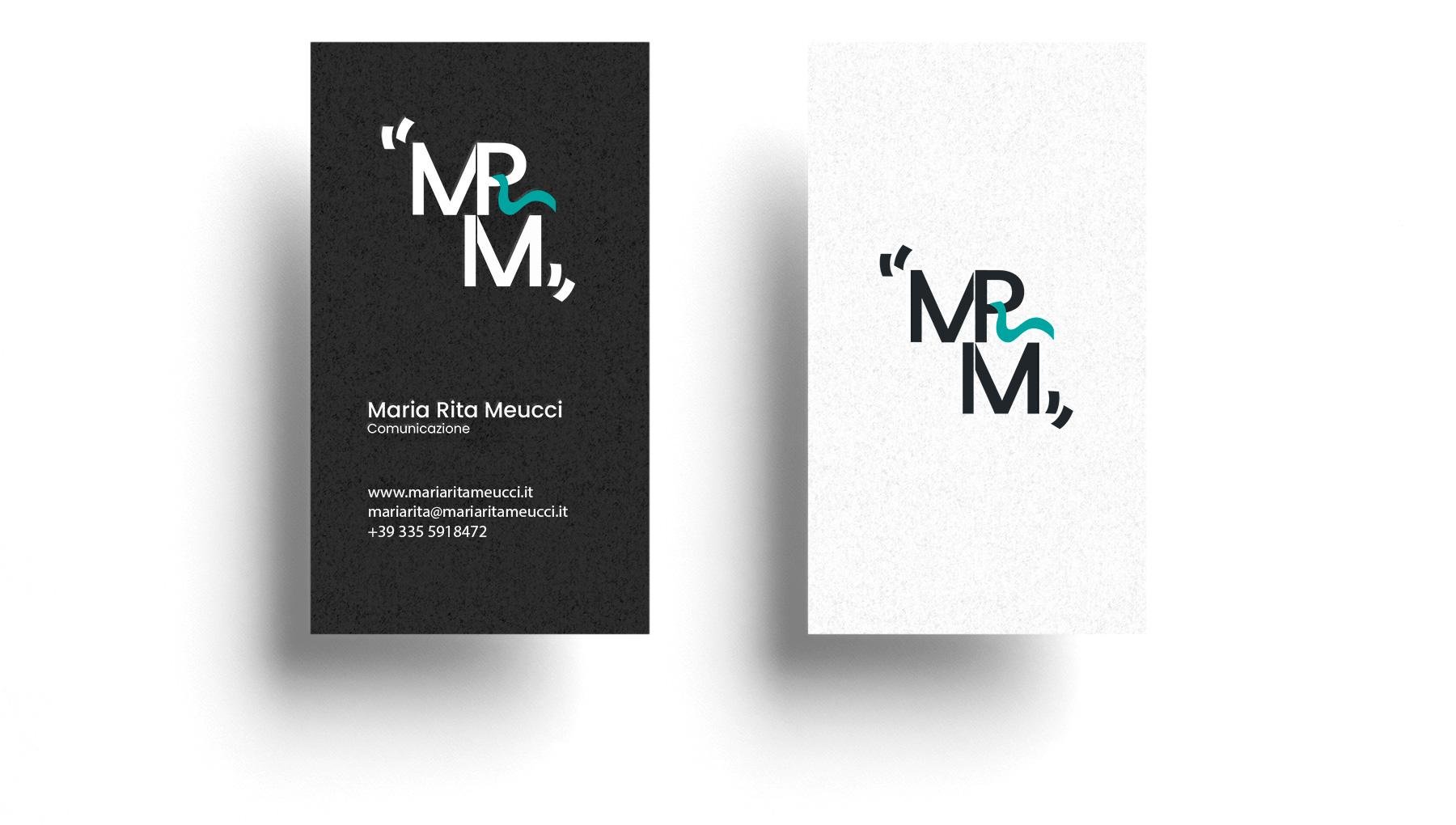 Logo design - Maria Rita Meucci - Comunicazione