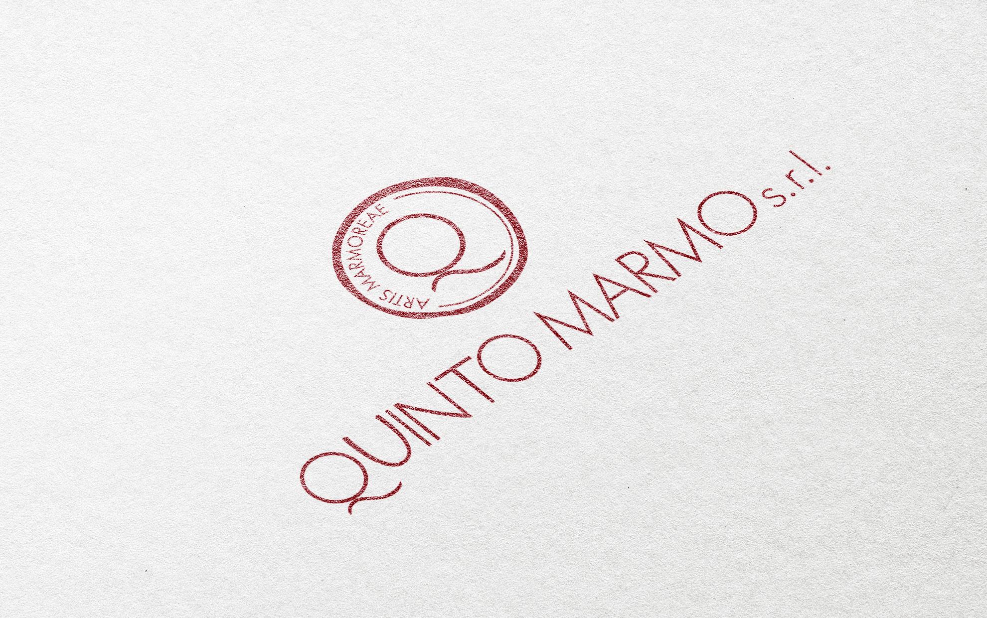 progettazione logo e immagine coordinata Quinto Marmo Srl